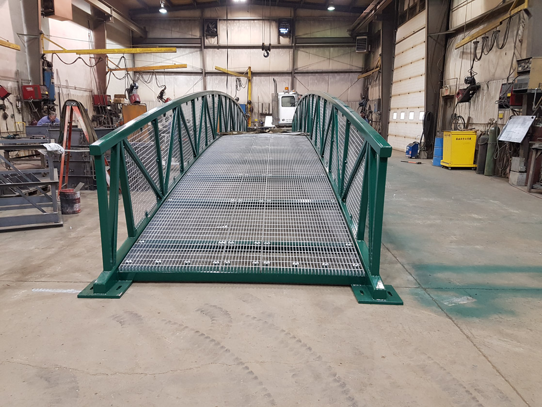 Fabricated Golf Bridge Saskatchewan