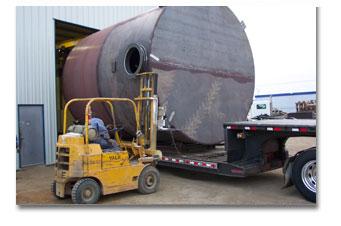Brine Acid Tank fabricators Saskatoon
