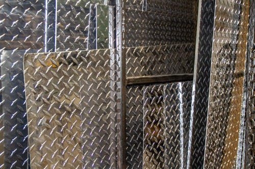 Checkered Aluminum Plates Saskatoon