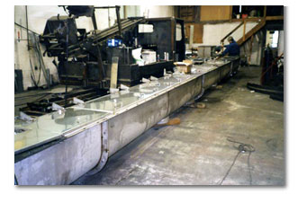 Industrial Stainless Steel Screw Conveyor made in Saskatoon
