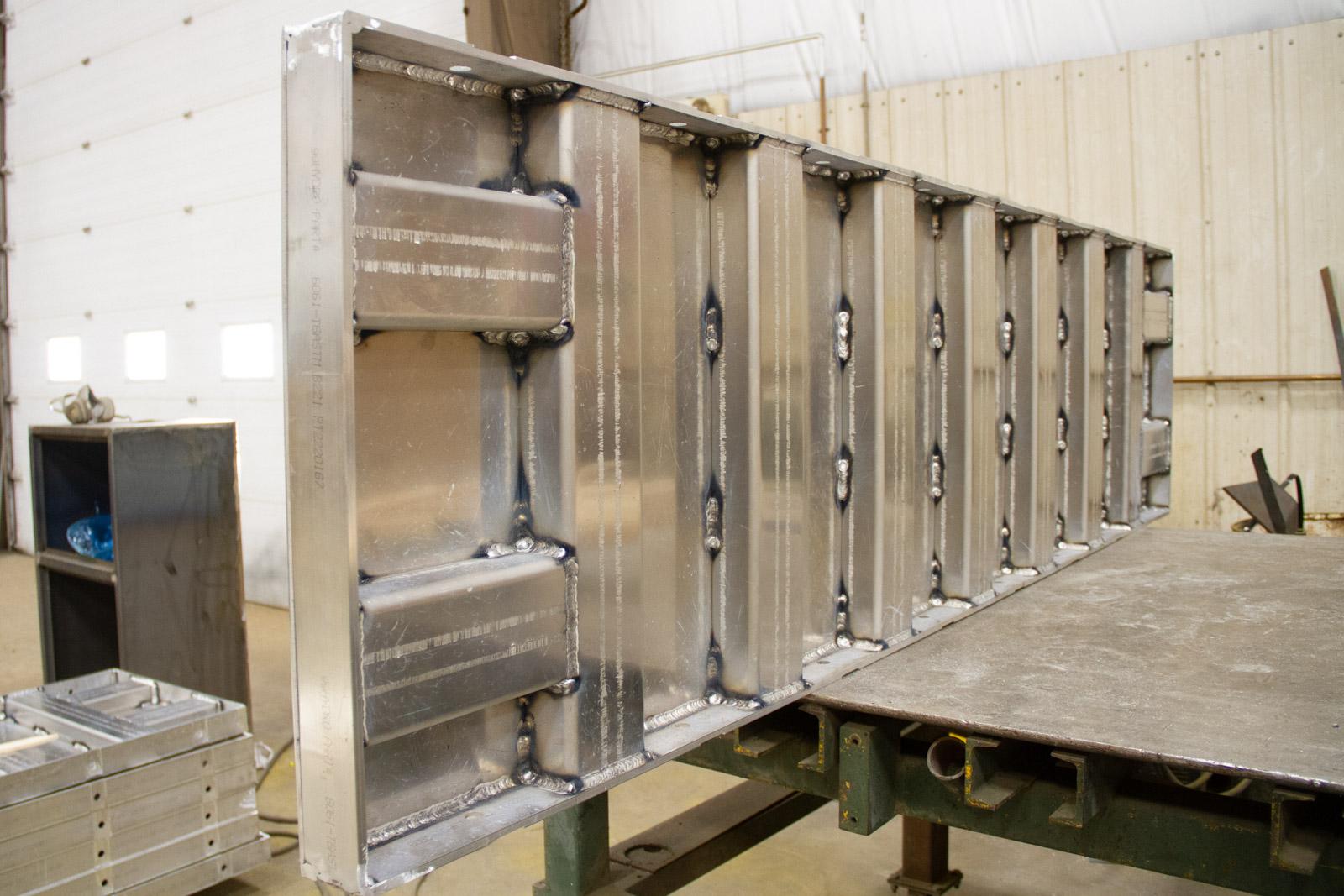Aluminum Concrete Mold