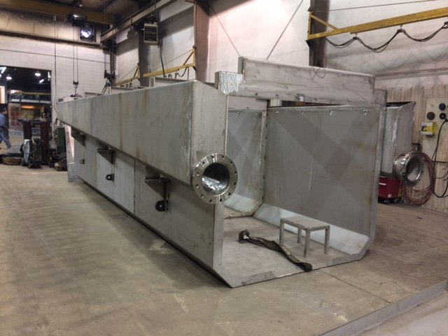 Stainless Steel Launder- Potash